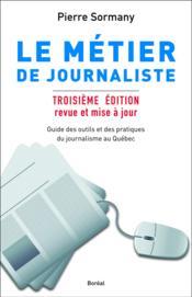 Le métier de journaliste - Couverture - Format classique