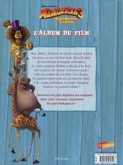 Madagascar 3 ; bons baisers d'Europe ; l'album du film - 4ème de couverture - Format classique