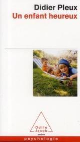 Un enfant heureux - Couverture - Format classique