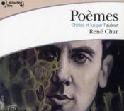 Poèmes de René Char - Couverture - Format classique