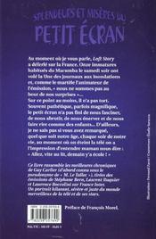 Splendeurs et misères du petit écran - 4ème de couverture - Format classique