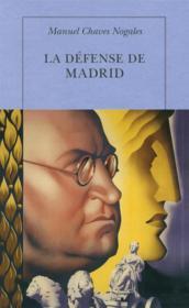 La défense de Madrid - Couverture - Format classique