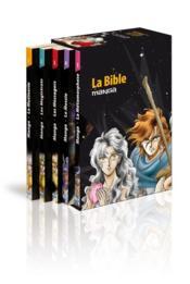 La bible en manga ; COFFRET T.1 A T.5 - Couverture - Format classique