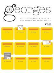 Magazine Georges ; Lettre - Couverture - Format classique