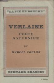 Verlaine Poete Saturnien. - Couverture - Format classique