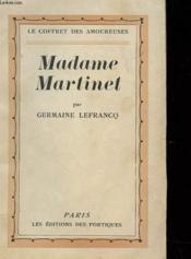 Madame Martinet - Couverture - Format classique