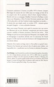 Jacques Brel ; l'aventure commence à l'aurore - 4ème de couverture - Format classique