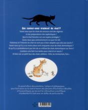 Tout sur le chat... et le reste - 4ème de couverture - Format classique