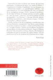 Romans et voyage t.1 - 4ème de couverture - Format classique