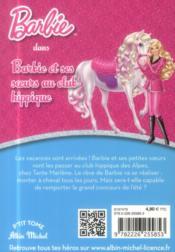 Barbie et ses soeurs au club hippique - 4ème de couverture - Format classique