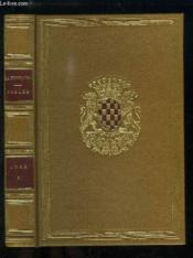 Fables de La Fontaine, illustrée par J.J. Grandville. TOME 1er. - Couverture - Format classique
