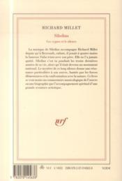 Sibelius, les cygnes et le silence - 4ème de couverture - Format classique
