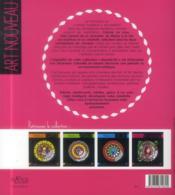 Mandalas art nouveau - 4ème de couverture - Format classique