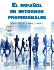 El español en ambitos profesionales - Couverture - Format classique