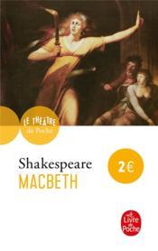Macbeth - Couverture - Format classique