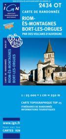 Riom-es-montagnes, Bort-les-orgues ; 2434 OT - Couverture - Format classique