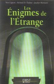 Les Enigmes De L'Etrange - Intérieur - Format classique