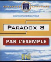 Par l'exemple paradox 8 - Couverture - Format classique