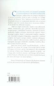 L'étonnant voyage des mots français dans les langues étrangères - 4ème de couverture - Format classique
