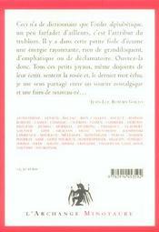 Manuel de contemplation humoristique 1 - 4ème de couverture - Format classique