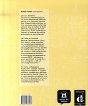 Rond point n.3 ; cahier d'exercices+cd - 4ème de couverture - Format classique