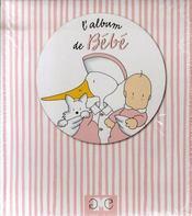 L'album de bébé fille - Intérieur - Format classique