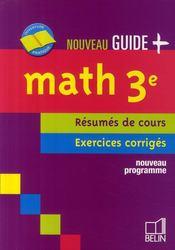 Math 3e 2008 - Couverture - Format classique