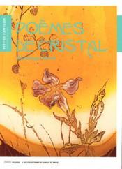 Poèmes de cristal - Couverture - Format classique