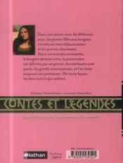 Contes Et Legendes ; Fées Et Princesses - 4ème de couverture - Format classique