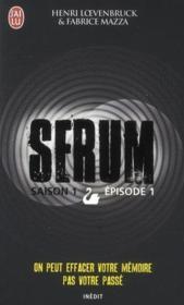 Sérum saison 1 t.1 - Couverture - Format classique