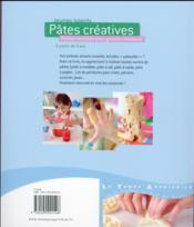 Pâtes créatives - 4ème de couverture - Format classique