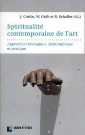 Spiritualité contemporaine de l'art - Couverture - Format classique