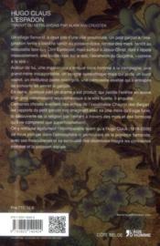 L'espadon - 4ème de couverture - Format classique