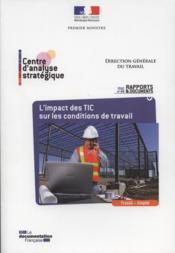 L'impact des TIC sur les conditions de travail - Couverture - Format classique