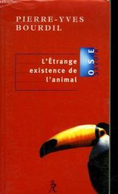 L'etrange existence de l'animal - Couverture - Format classique