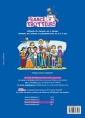FRANCE-TROTTEUR ; méthode de français ; niveau 3 ; livre - Couverture - Format classique