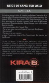 Kira t.3 ; neige de sang sur Oslo - 4ème de couverture - Format classique
