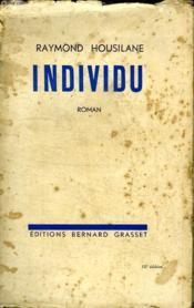 Individu. - Couverture - Format classique