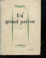 Un Grand Patron. - Couverture - Format classique