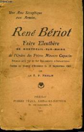 René Bériot. - Couverture - Format classique