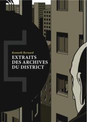 Extraits des archives du district - Couverture - Format classique