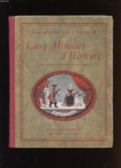 Cinq Minutes D'Histoire. Onze Sketches A Faire Jouer Par Nos Enfants - Couverture - Format classique