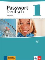 PASSWORT DEUTSCH T.1 ; allemand ; glossaire - Couverture - Format classique