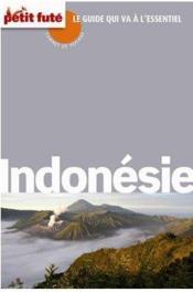 GUIDE PETIT FUTE ; CARNETS DE VOYAGE ; Indonésie (édition 2014) - Couverture - Format classique