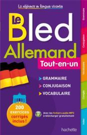 BLED ; tout-en-un ; allemand - Couverture - Format classique