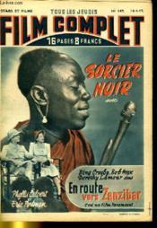 Stars Et Films - Tous Les Jeudis Film Complet N° 149 - Le Sorcier Noir - En Route Vers Zanzibar - Couverture - Format classique