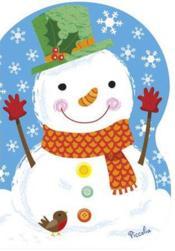 Mini Noël 2 ; bonhomme de neige - Couverture - Format classique