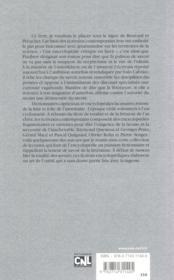 Les fictions encyclopédiques ; de Gustave Flaubert à Pierre Senges - 4ème de couverture - Format classique