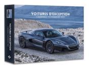 L'agenda-calendrier ; voitures d'exception (édition 2021) - Couverture - Format classique