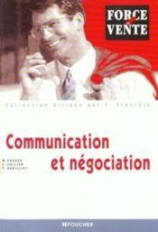 Communication Et Negociation - Couverture - Format classique